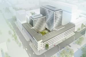 Nowy projekt od APA Kuryłowicz. Retro-biurowiec w sercu Warszawy