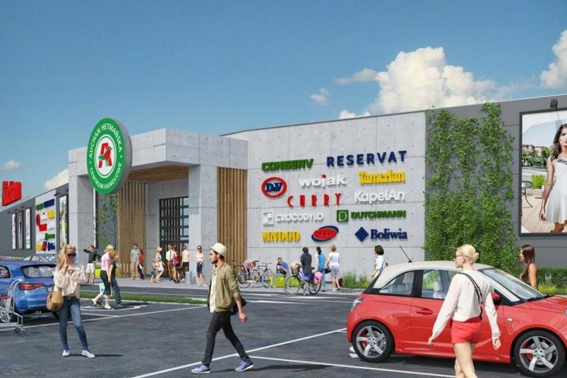 Egis Poland z projektem rozbudowy centrum handlowego w Białymstoku