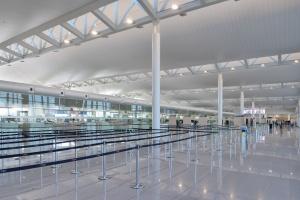 Lotnisko w Brukseli przeszło niezwykłą metamorfozę