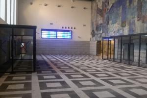 Dworzec w Gliwicach na ostatniej prostej. Hala główna już gotowa