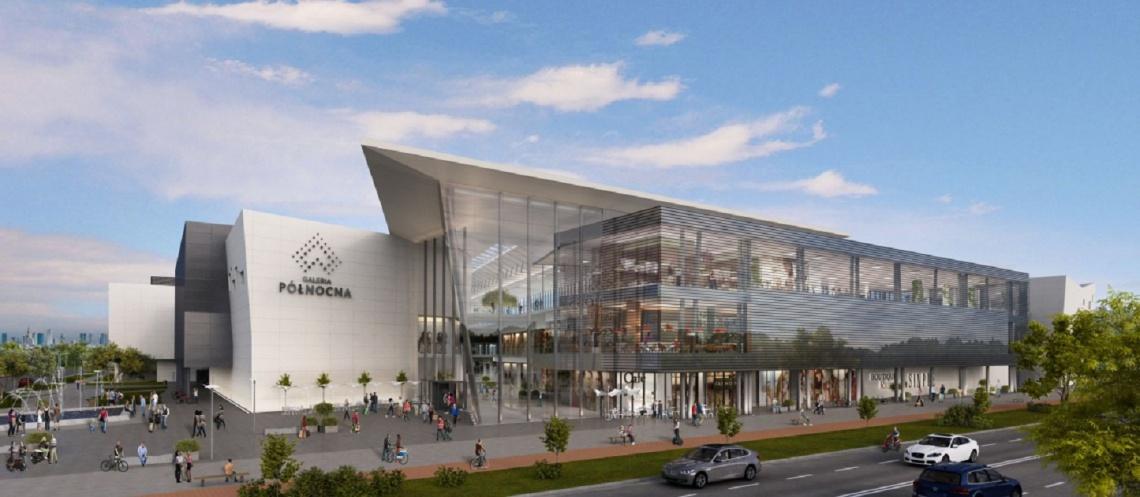 Galeria Północną z wiechą. To będzie centrum handlowe nowej generacji
