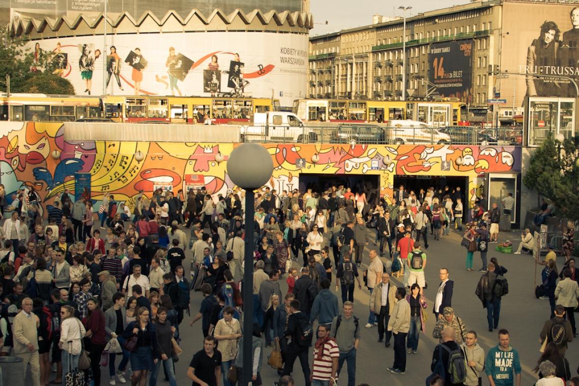 Osiem murali powstanie przy stacji Metro Centrum
