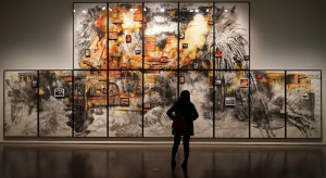 Powstaje składany pawilon - tymczasowa siedziba Muzeum Sztuki Nowoczesnej