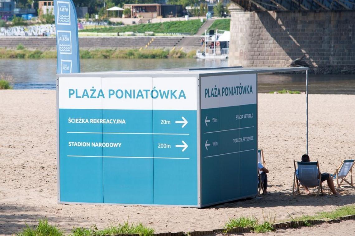 10 najlepszych plaż w Europie. A wśród nich warszawska