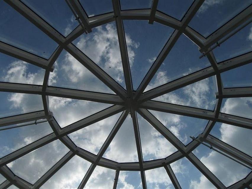 Szklana kopuła Galerii Katowickiej wciąż zachwyca