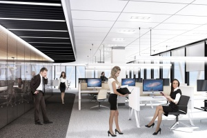 Tak będzie wyglądał nowy biurowiec na warszawskim Mokotowie