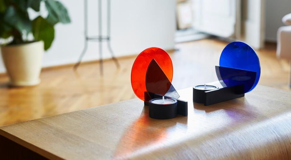 Designerskie świeczniki w stylu Bauhaus