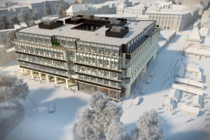 Biurowiec projektu CDF Architekci rozwija skrzydła