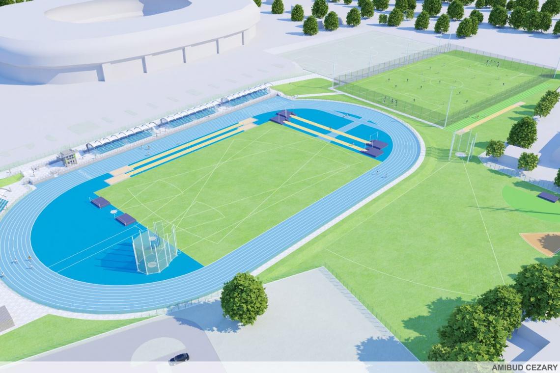 Budowa areny lekkoatletycznej w Tychach jeszcze w tym roku