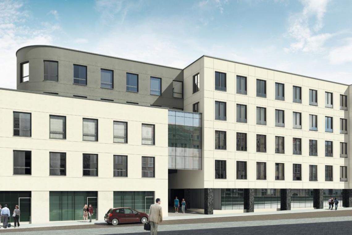 W Katowicach powstaje nowy hotel. To projekt AGK Architekci AW