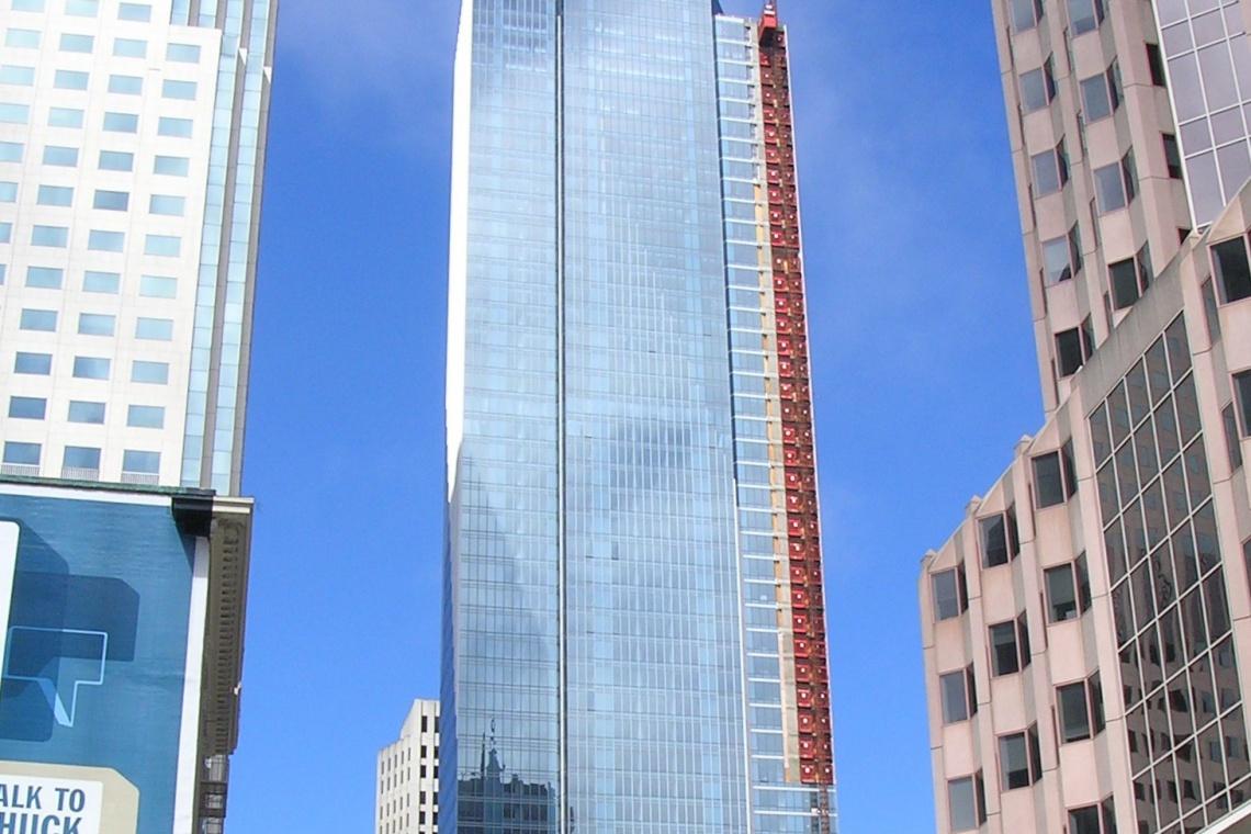 Amerykański wieżowiec tonie