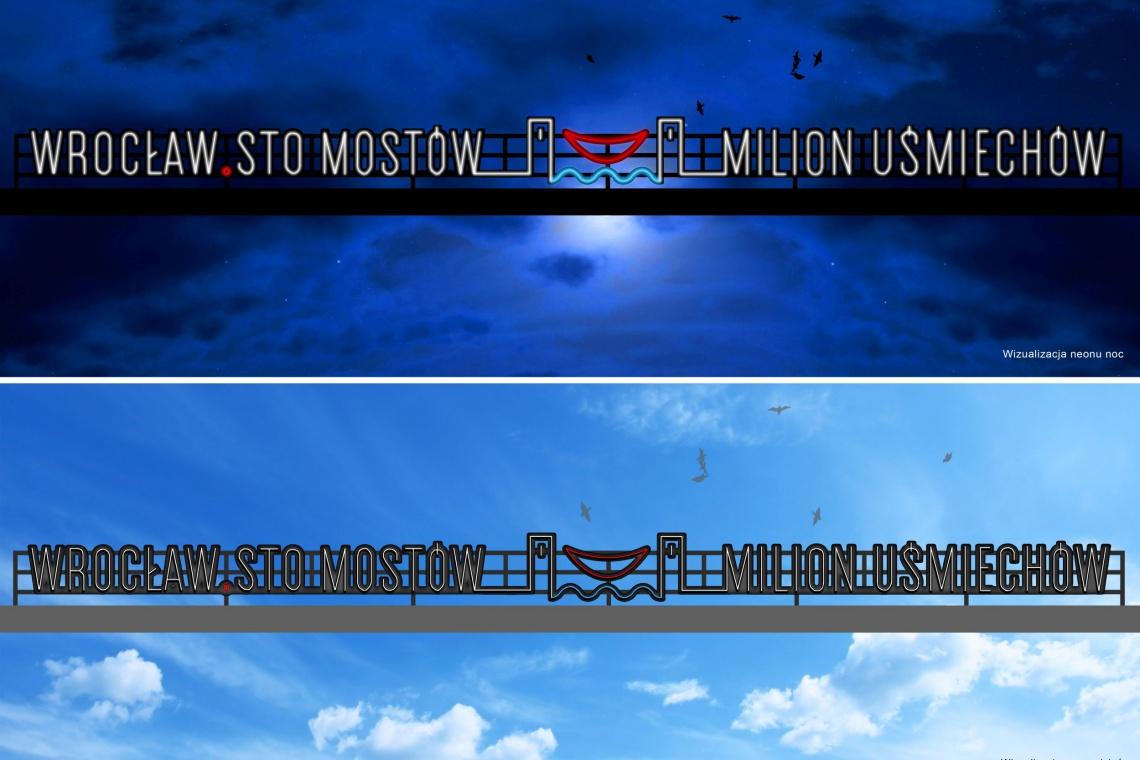 Oto zwycięski projekt neonu, który rozświetli Wrocław