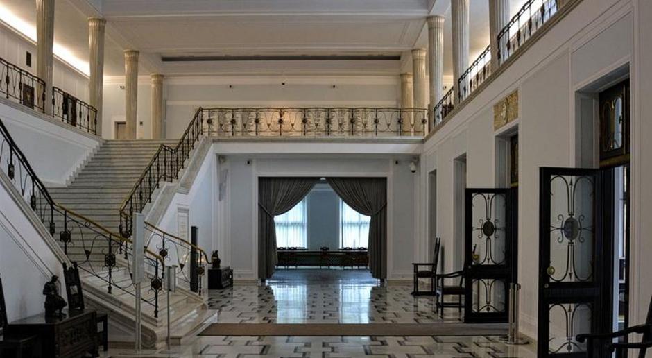Sejmowa architektura. Oto hall główny