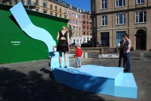 Rzeźba, instalacja, a może skatepark? Zobacz oryginalny mebel miejski