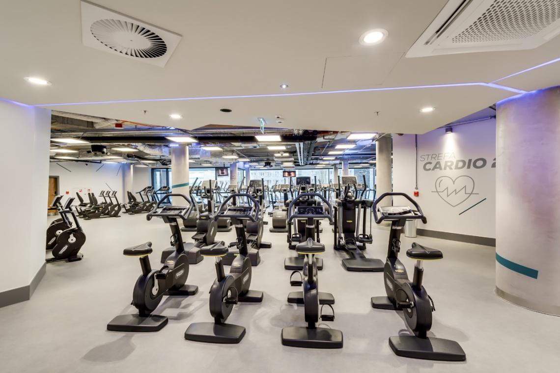 Zynk Design zaprojektowało centrum fitness