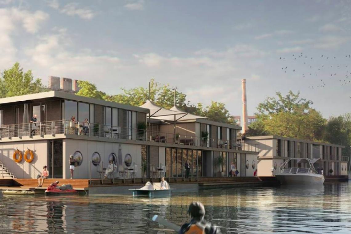 Nowy hotel w Gdańsku będzie... pływał