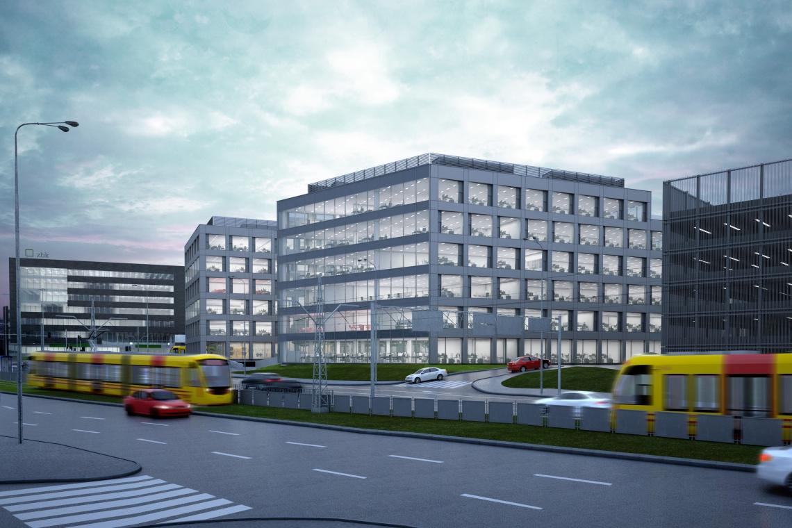 Nowy kompleks od DDJM pełen biur