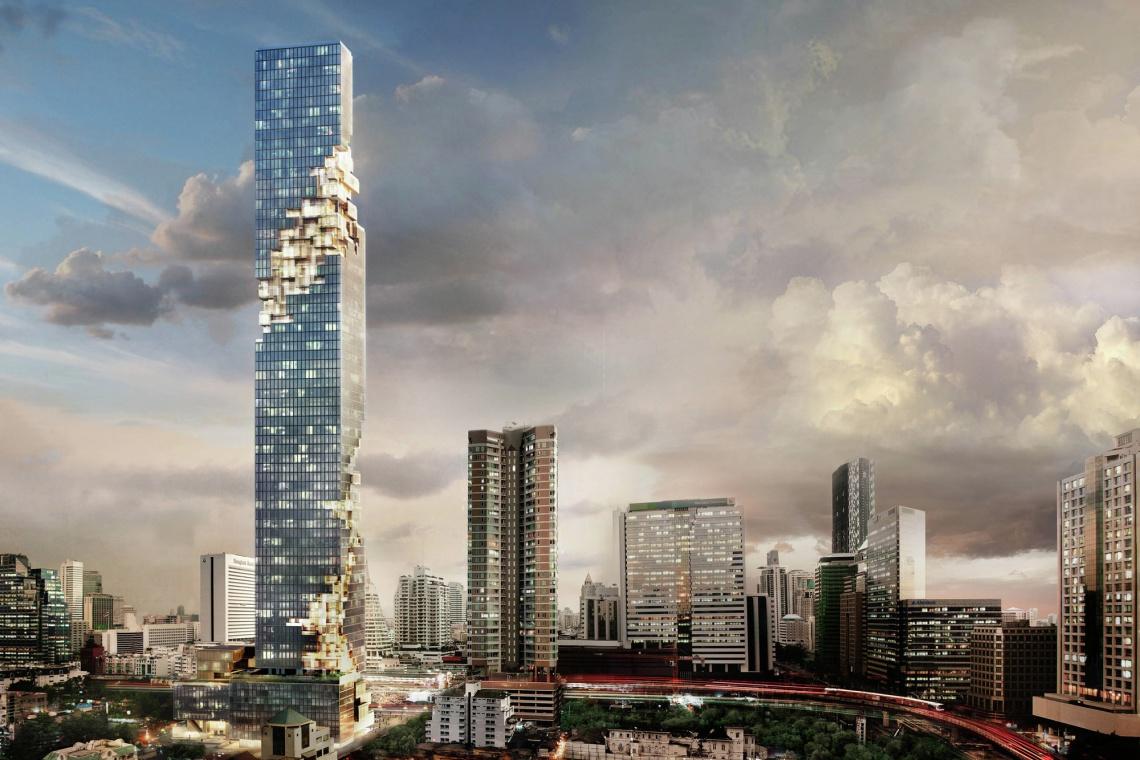 Otwarto najwyższy budynek w Tajlandii. Co to był za show!
