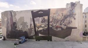Osiem dni i takie efekty! Nowy mural grupy Etam Cru i Roberta Procha
