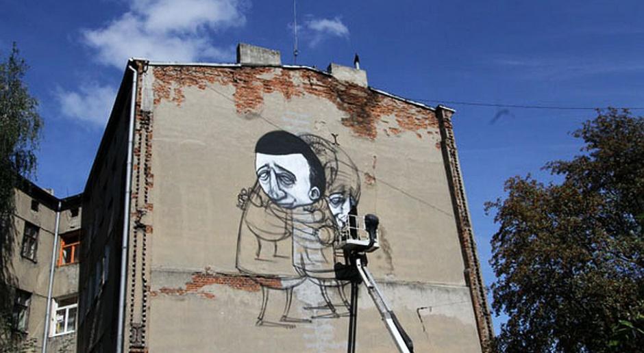 Kolejny mural w Łodzi. Tym razem od wybitnego artysty street-artu z Australii