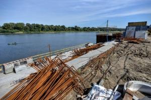 Najnowsze wieści z budowy bulwarów w Warszawie
