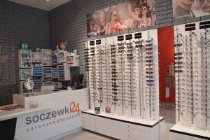 Salon optyczny w stylu loftowo-industrialnym