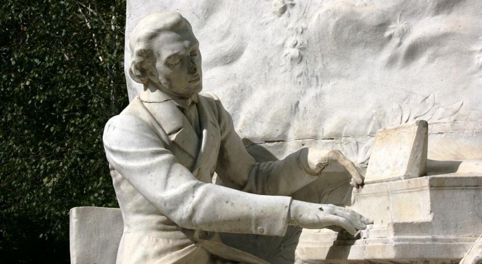 Chopin na muralu