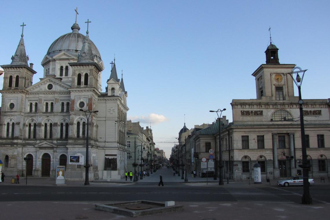 Kolorystyczna metamorfoza jednego z najstarszych kościołów w Łodzi