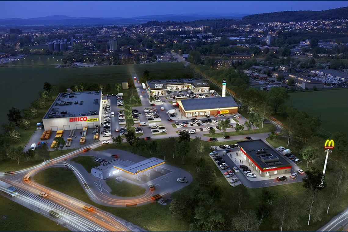 Pierwsze centrum handlowe w Strzegomiu na ukończeniu
