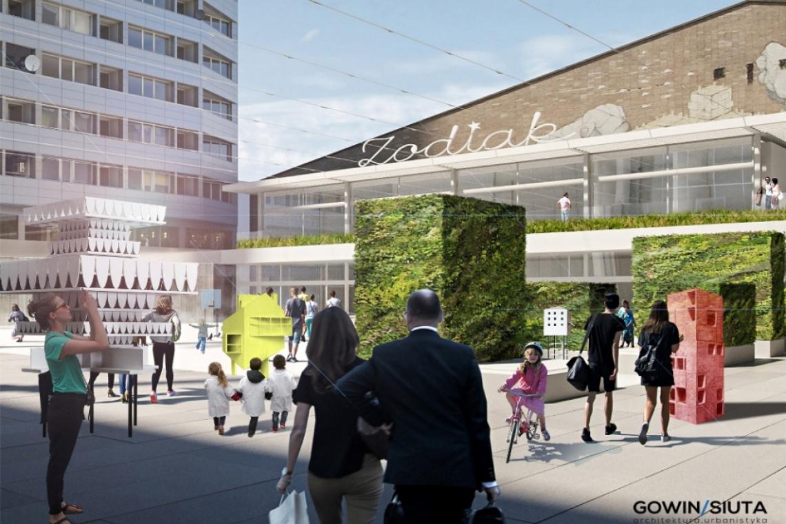 Pawilon Zodiak to szansa na ciekawą architekturę w centrum Warszawy