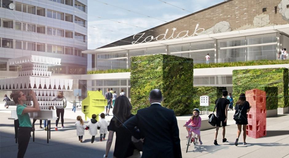 Nowy Pawilon Zodiak ma szansę odmienić centrum Warszawy