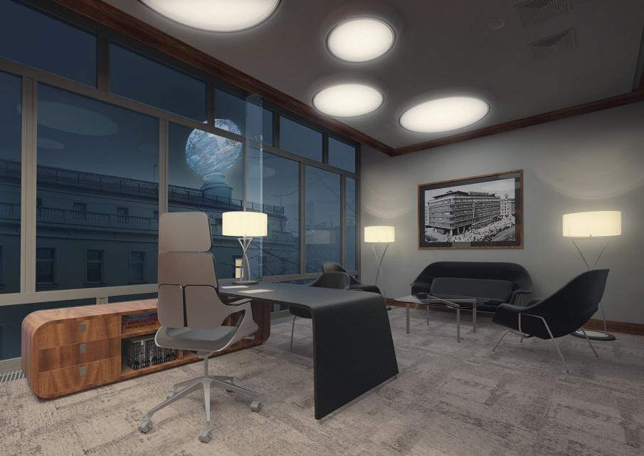 Smyk powraca jako Cedet. Tak będzie wyglądało wnętrze biurowe według koncepcji Pik Studio