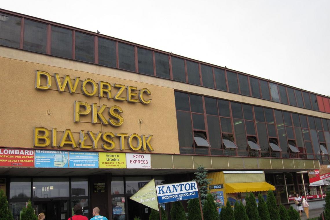 Roztańczony koniec dworca PKS w Białymstoku. Zastąpi go nowy