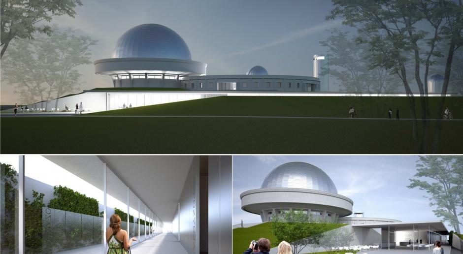To oni zaprojektują rozbudowę najstarszego i największego planetarium w Polsce