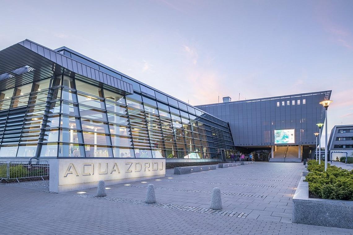Jak powstawało Centrum Aqua-Zdrój w Wałbrzychu