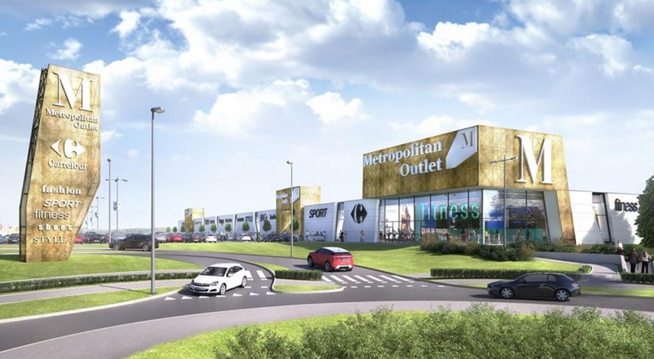 Elegancka i wielkomiejska - taka będzie architektura Metropolitan Outlet w Bydgoszczy