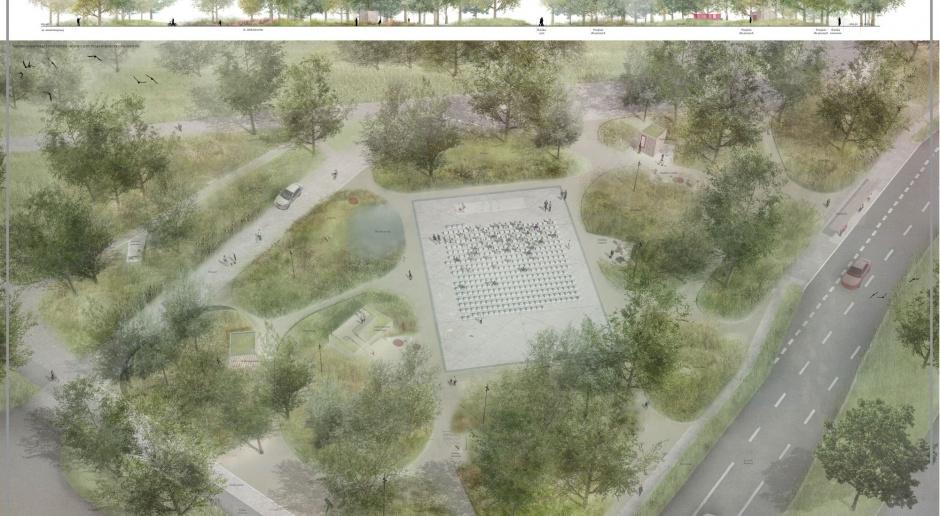Tak odmienią teren po pomniku Koniewa w Krakowie