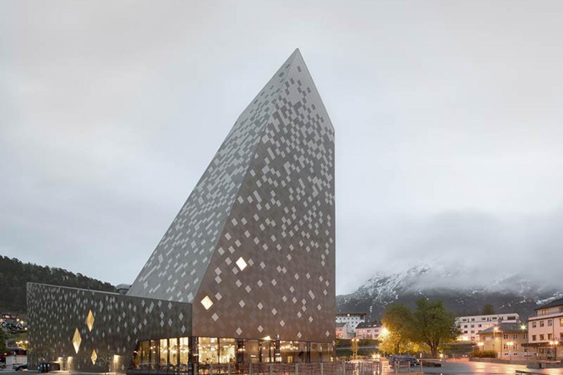 Budynek jak góra