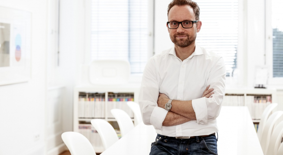 Niemiecki designer od atmosfery relaksu