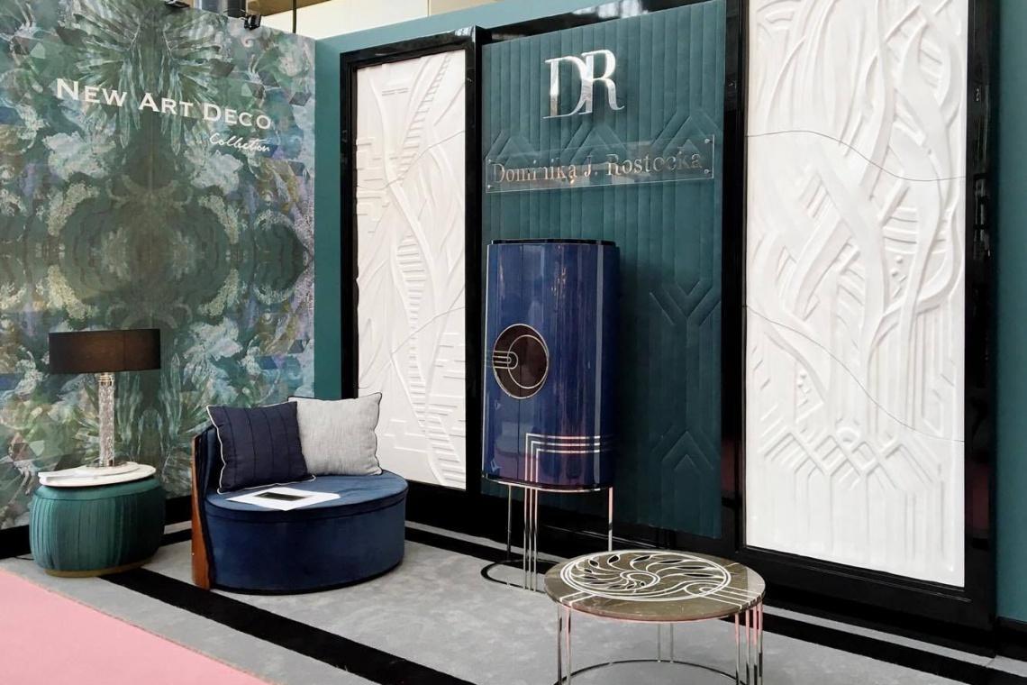New Art Deco - pierwsza kolekcja Dominiki J. Rostockiej
