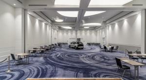 Oryginalna sala balowa w hotelu DoubleTree by Hilton