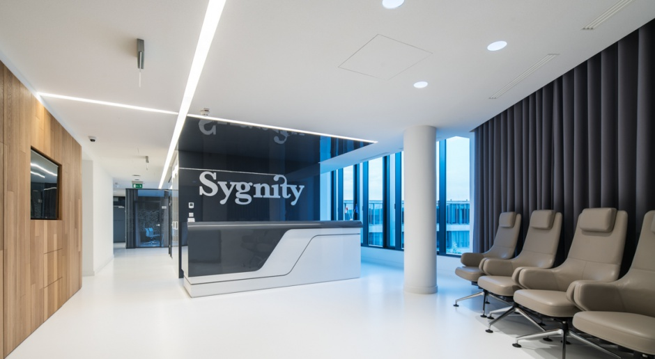 Nowoczesne i przestronne biuro Sygnity w Warszawie