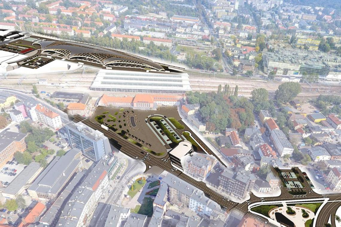 Na początku 2017 r. wybór projektanta Centrum Przesiadkowego w Gliwicach