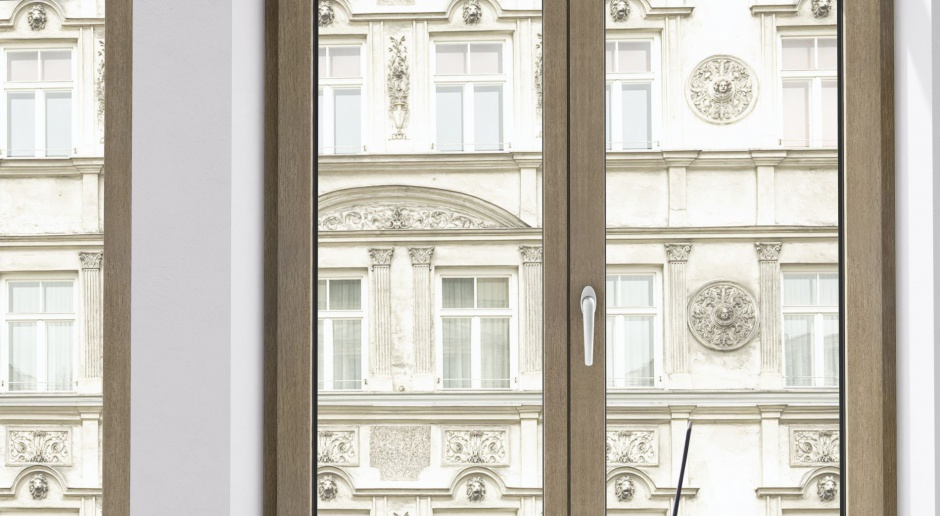 Okno też chce być trendy!