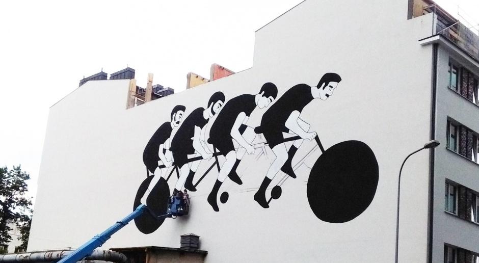 Nowy warszawski mural prawie gotowy