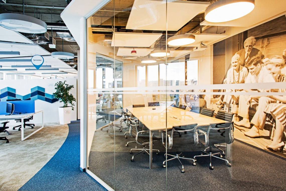 Biuro firmy Aviva zachwyca designem i dbałością o komfort pracowników