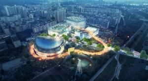 Bieżnia ponad głowami - niezwykły kompleks sportowy powstanie w Chinach
