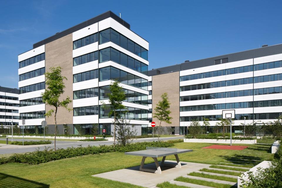 Co wyróżnia kompleksy Business Garden? Strefy rekreacyjne