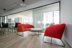 Nowe biuro firmy SIX - tu rządzi minimalizm i harmonia