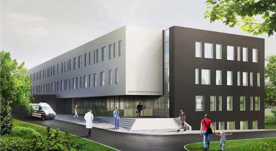 Tak będzie wyglądać nowy szpital przy ul. Żurawiej w Białymstoku
